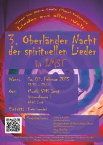 3. Oberländer Nacht der spirituellen Lieder