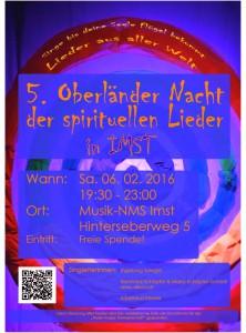 5. Oberländer Nacht der spirituellen Lieder