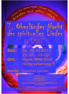 7. Oberländer Nacht der spirituellen Lieder