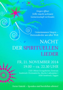 5. Innsbruker Nacht der spirituellen Lieder