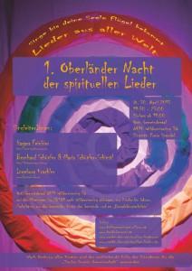 1. Oberländer Nacht der spirituellen Lieder