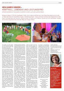Chor Tirol 2. Ausgabe 2016 /Zeitschrift des Sängerebundes