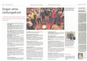 Beilage Lebenswelten 1/15. Es war die Ausgabe Nr. 6 (5.Februar 2015) des Tiroler Sonntag (Kirchenzeitung der Diözese Innsbruck)