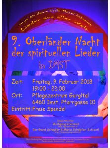 9. Oberlaender Liedernacht